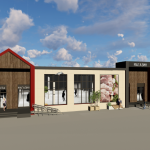 """Начало строительства торгового центра в экорайоне """"Вишневая горка"""""""