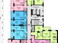 Планировки квартир, 9 этаж