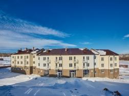 Фасады многоподъездных домов