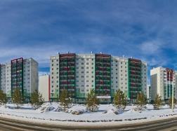 """Панорама """"Вишневой горки"""". Март 2017"""